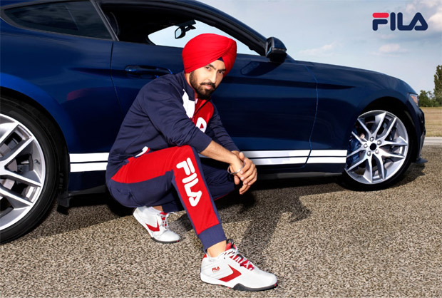FILA ropes in Diljit Dosanjh as the new face of uber-cool motorsport collection