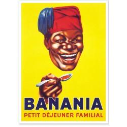 affiche tete tirailleur banania