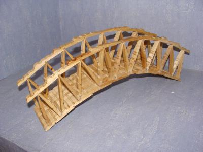 Petit Pont Cration Cration En Pinces Linge De Mac
