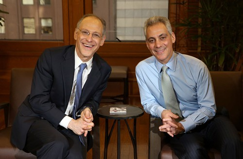 Ezekiel Emanuel, pictured here with brother Rahm, says he knows when to say when.