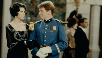 Fanny Ardant and André Dussollier in Resnaiss Life Is a Bed of Roses