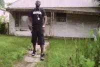 Freddie Gibbs in the process of repping Gary