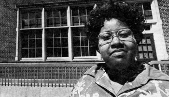 In the 1970s, Angie Ray worked tirelessly to improve conditions at Bradwell elementary, her daughters' school in South Shore. Bradwell then was 98 percent black, and four decades later, it still is.