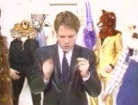 Just an average day for Robert Palmer ca. 1980