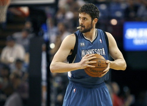 Kevin Love says, Hello, Cleveland!
