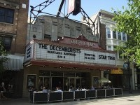 Madisons Orpheum Theater, in better weather