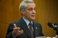 Mayor Rahm gets ready to squeeze contributions from rich people for a good cause.