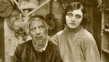Pola Negri (right) stars in The Yellow Ticket.