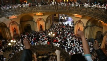 Protesters have already told state representatives what they dont want cut.