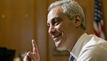 Rahm Emanuel has turned on his national fundraising spigot to help him stay in office in Chicago.