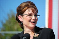 Sarah Palin, putting her faith in The Only Hope.