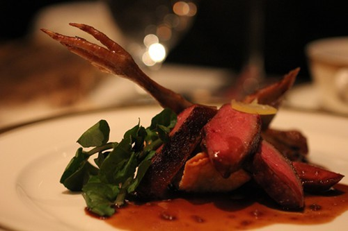Squab course from Next The Hunt.