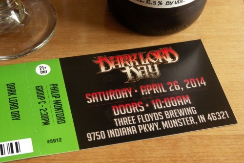 Sure, I do a beer column, but I buy my Dark Lord Day ticket one leg at a time, just like everybody else.