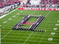 The Ohio State marching band: one of the few Big Ten squads that hasnt underperformed this season