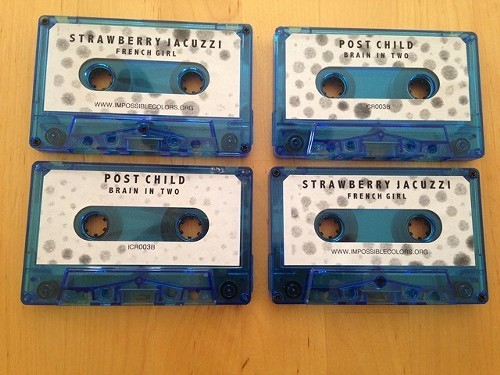 The second cassingle in the Impossible Colors Club
