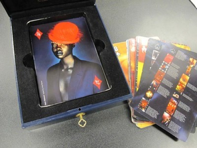 Visionaire magazine presented like a deck of cards - and costing over 300 bucks!