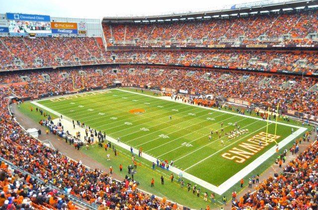 Browns Table Talks of New Stadium, Focused on Updating FirstEnergy and Improving Pedestrian Access | Scene and Heard: Scene's News Blog