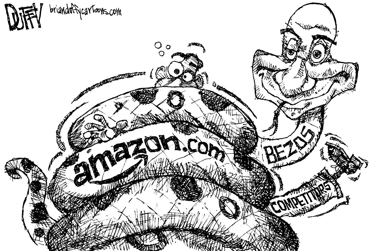 The Dark Side Of Amazon