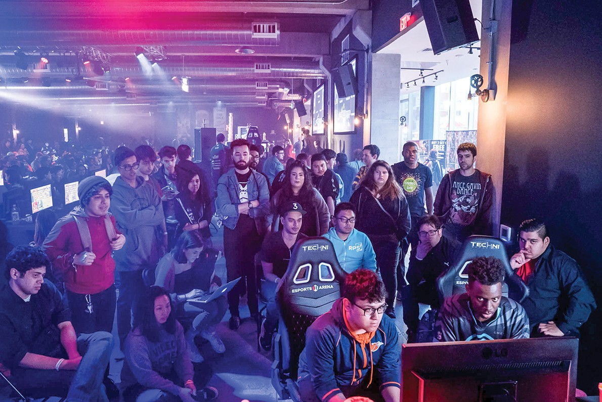 A New Esports Arena Brings The World Of Competitive Video Games To Oakland Arts Feature East