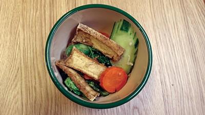 Crisy Ginger Tofu - JESSE DAVIS