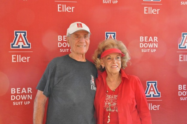 Karl Eller with his wife and fellow Wildcat, Stevie. - COURTESY UA