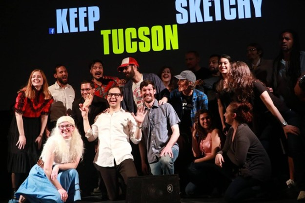 Keep Tucson Sketchy reprises its popular Saturday Night Live parody show on May 18 at The Screening Room. - CLAYTON BRAASCH