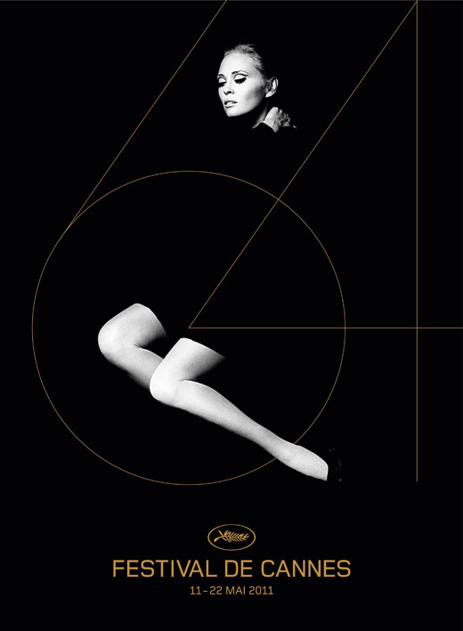 cannes festival 64 official poster