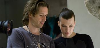Paul W.S. Anderson y Milla Jovovich en Resident Evil
