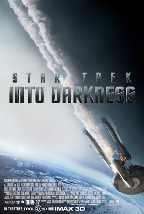 Star Trek Into Darkness - Enterprise Falling poster