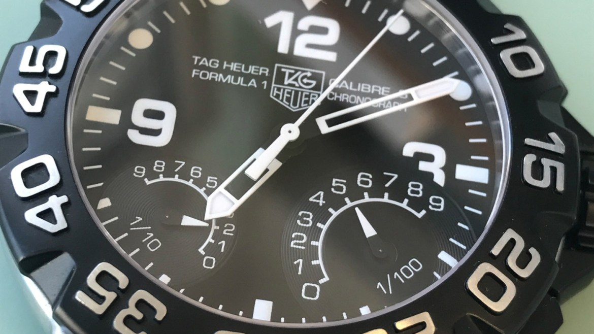 Getting a new battery or a service for a Tag Heuer watch?
