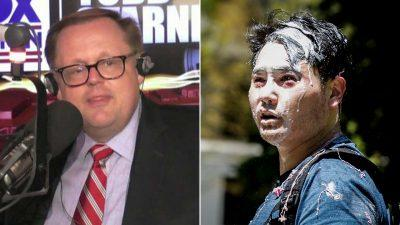 Andy Ngo talks to Todd Starnes about Antifa attack