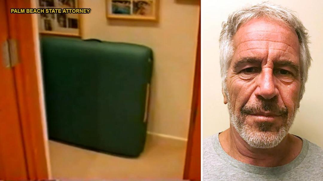 WATCH: Massage tables among items seen in video from 2005 raid of Jeffrey Epstein's Palm Beach mansion