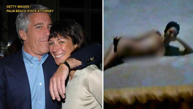 WATCH: Police video appears to show pictures, some topless, of Jeffrey Epstein's alleged madam, Ghislaine Maxwell