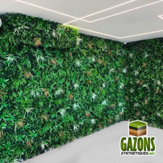 mur vegetal artificiel savane 1m x 1m