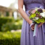 Purple Lavender Lilac Wedding Bouquets For Any Season