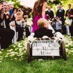 Bride S Son In Ring Bearer Wagon