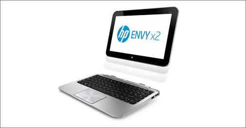 HP launches Windows 8 hybrid, ultrabook