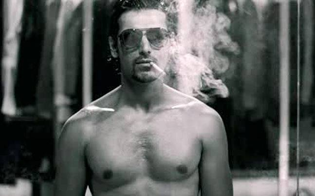 Image result for john abraham smoking