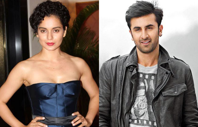 Image result for kangana with ranbir kapoor