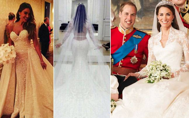 From Kim K To Kate Middleton: Five Celebrity Wedding
