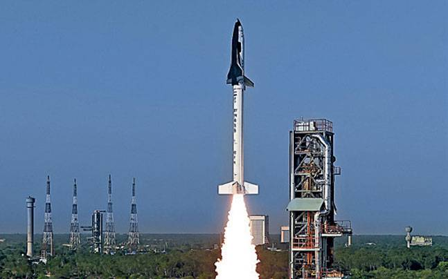 First RLV being launched from Sriharikota