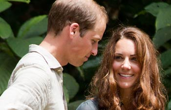 Prince William with Kate