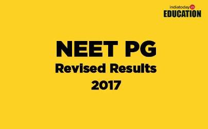 NEET PG Revised Results 2017: To be announced today at 6 pm on nbe.edu.in