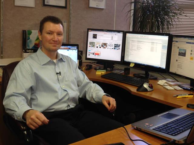Robert Dotcom Jackson of Internet Builder Consulting