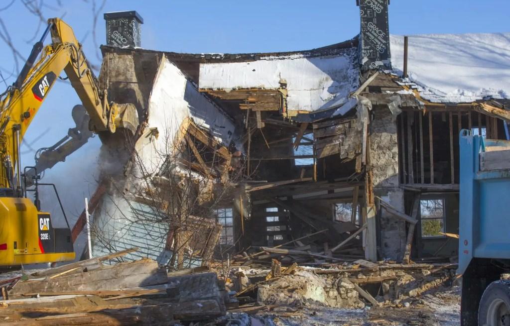 L'ex-maire de Chambly aurait «orchestré» la destruction de la maison Boileau