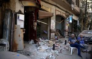 La capitale libanaise dévastée accueille le président Macron