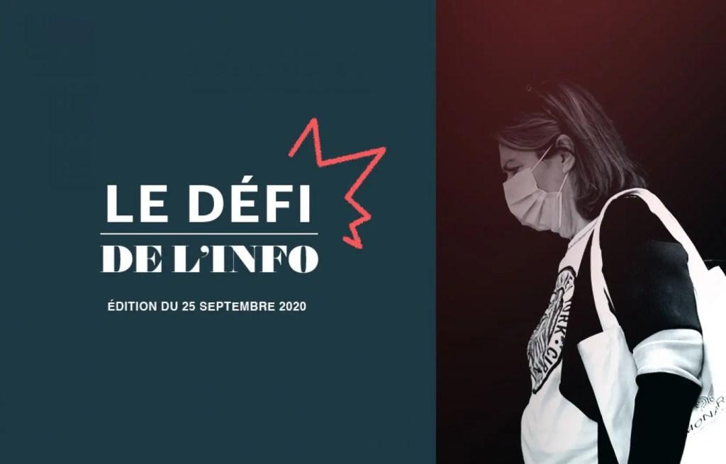 Zone orange, discours du Trône et Tour de France: le Défi de l'info du 25 septembre