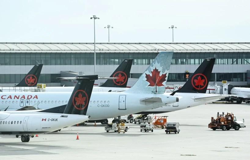 Air Canada diminue sa capacité de 25% et supprime environ 1700 emplois