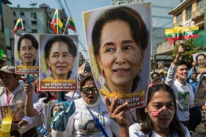 Aung San Suu Kyi jugée à partir du 14juin