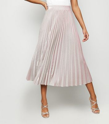 Pink Glitter Skirt